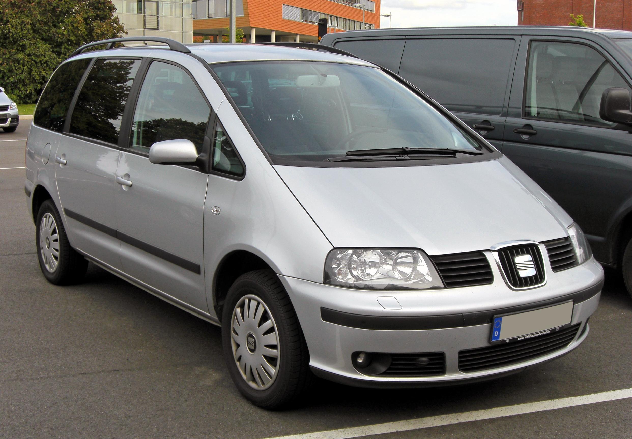 SEAT Alhambra I 1996 - 2000 Minivan #5