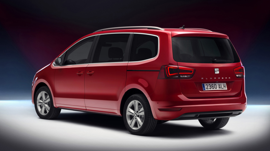 SEAT Alhambra II Restyling 2015 - now Minivan #2