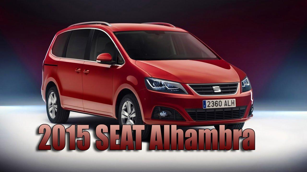 SEAT Alhambra II Restyling 2015 - now Minivan #7