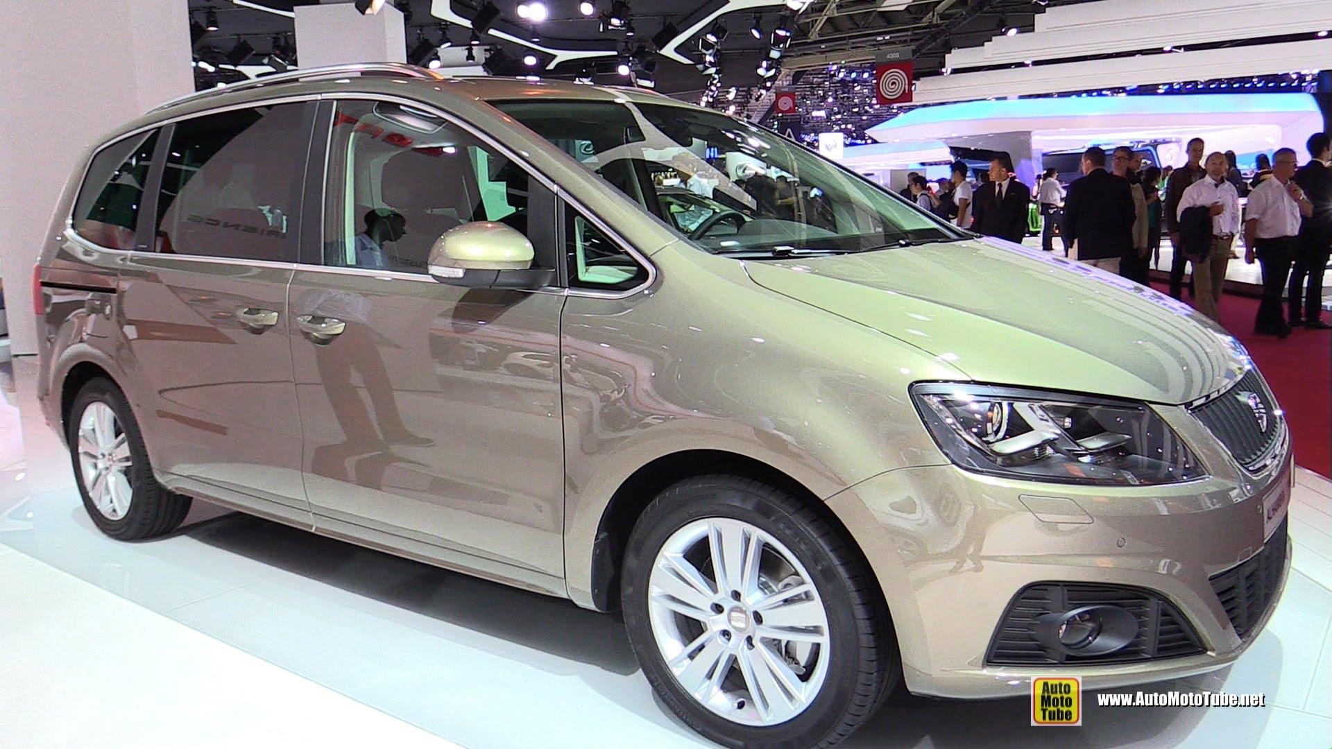 SEAT Alhambra II Restyling 2015 - now Minivan #6
