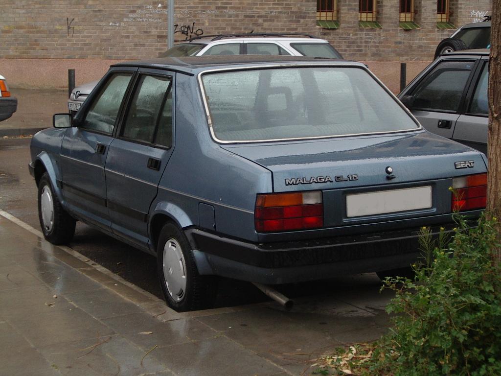 SEAT Malaga 1985 - 1993 Sedan #3