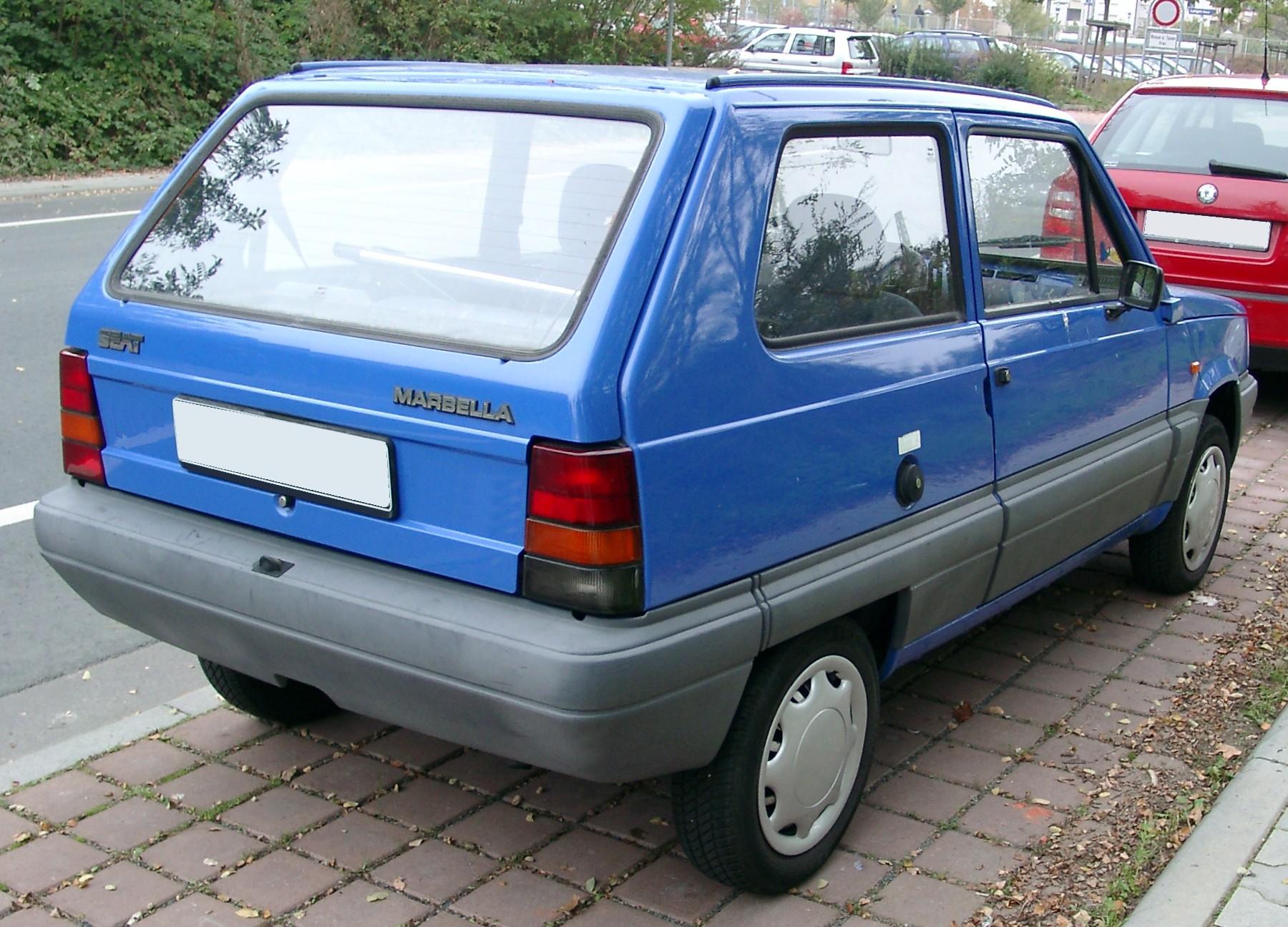 SEAT Marbella 1986 - 1998 Hatchback 3 door #3