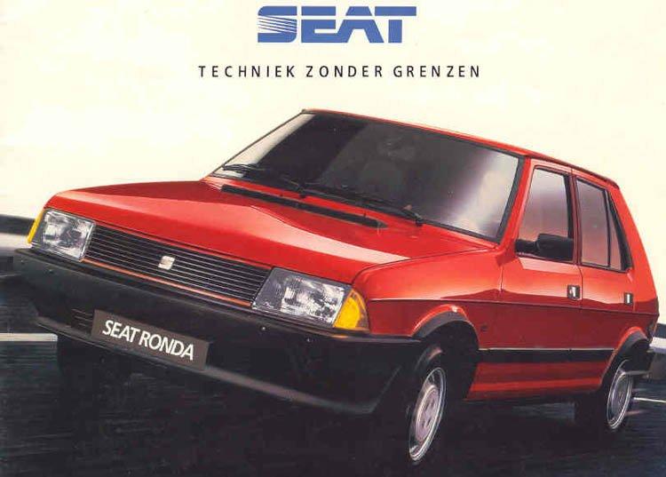 SEAT Ronda 1982 - 1988 Hatchback 5 door #6