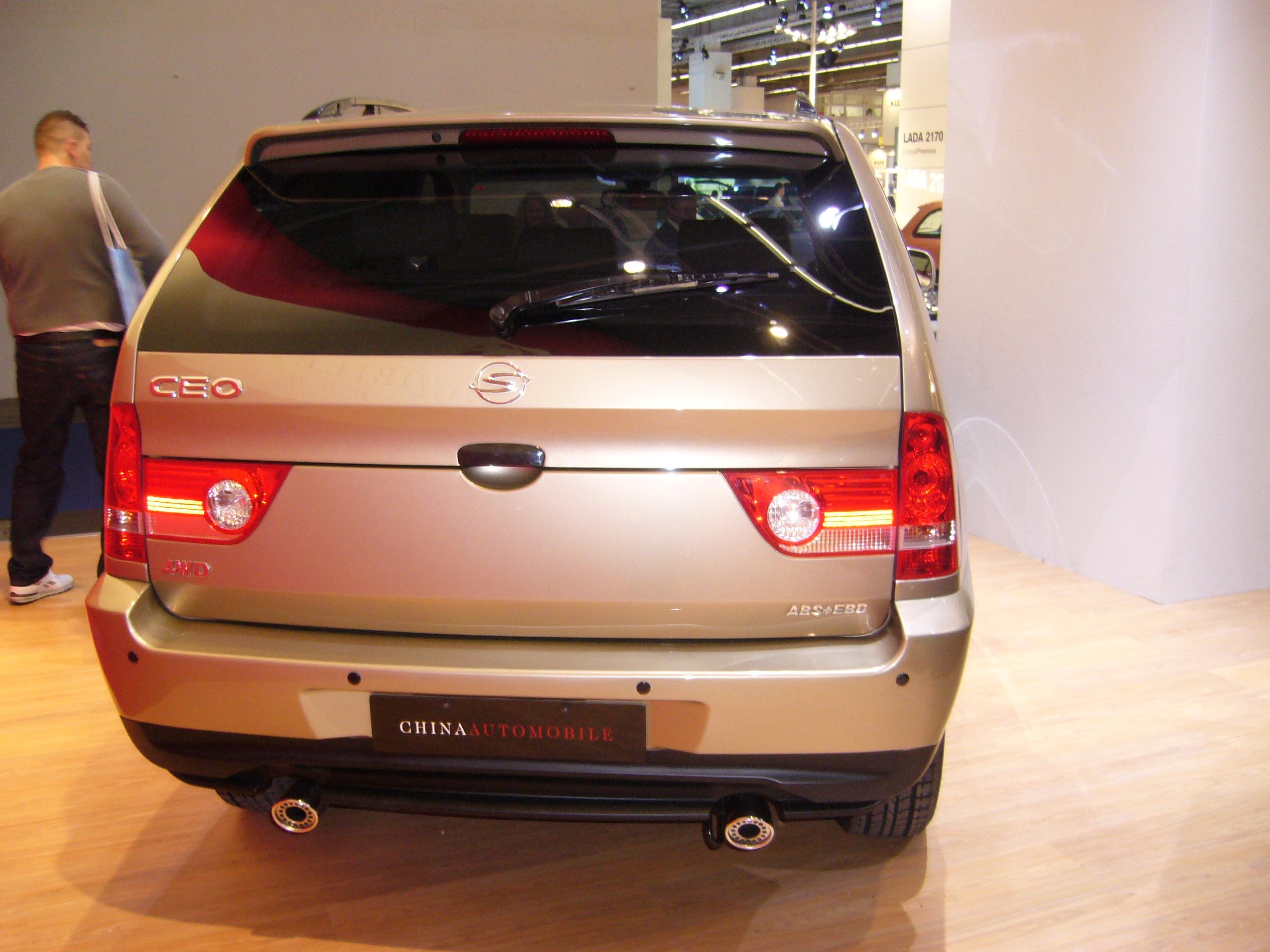 ShuangHuan Sceo 2006 - now SUV 5 door #1