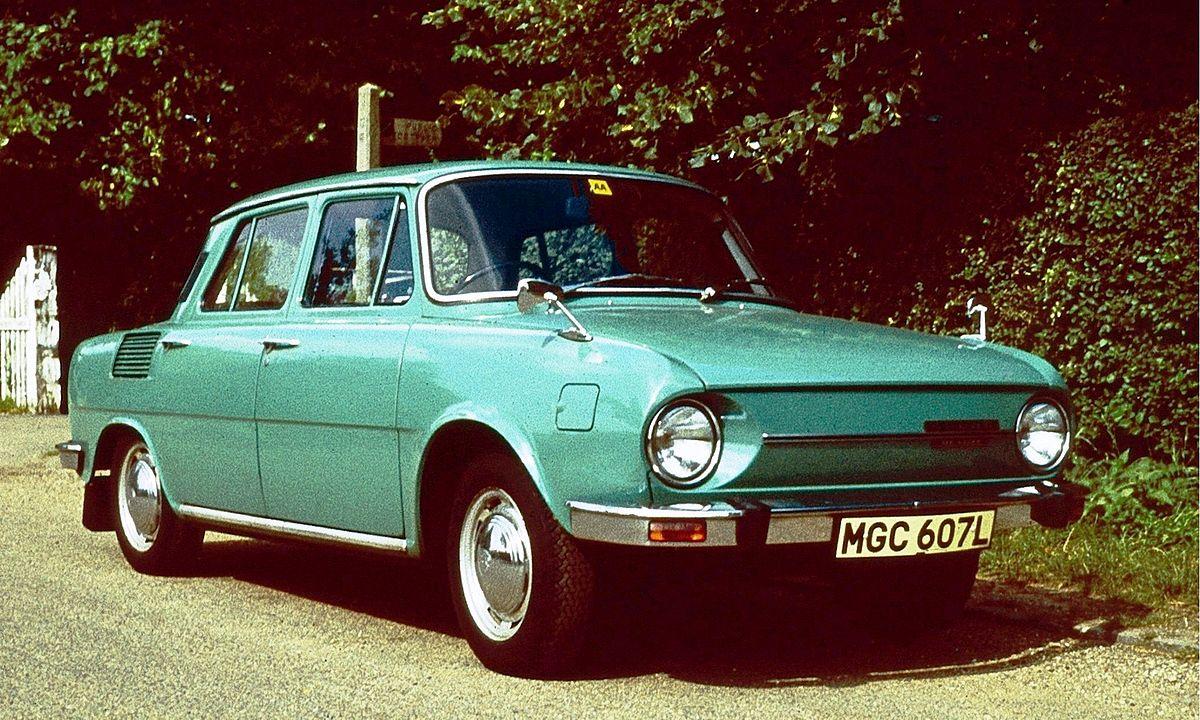 Skoda 100 Series I 1969 - 1984 Coupe #8