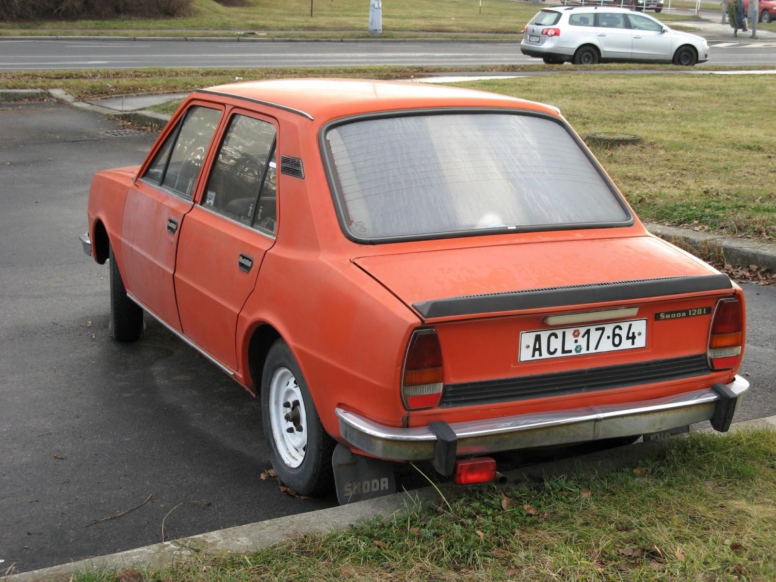 Skoda 105, 120 I 1976 - 1990 Sedan #6