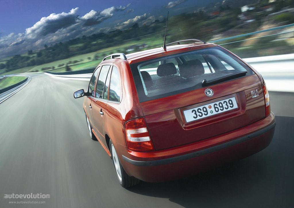 Skoda Fabia I 1999 - 2004 Sedan #1