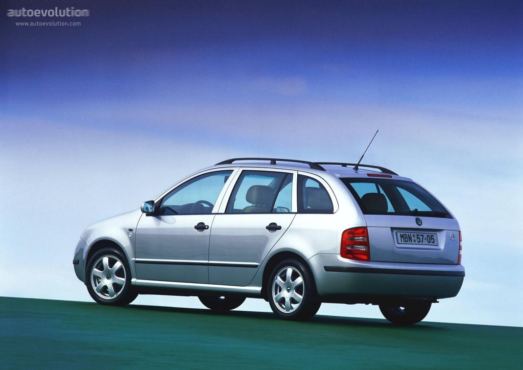 Skoda Fabia I 1999 - 2004 Sedan #3