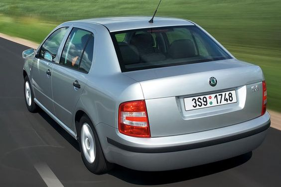 Skoda Fabia I Restyling 2004 - 2007 Sedan #4