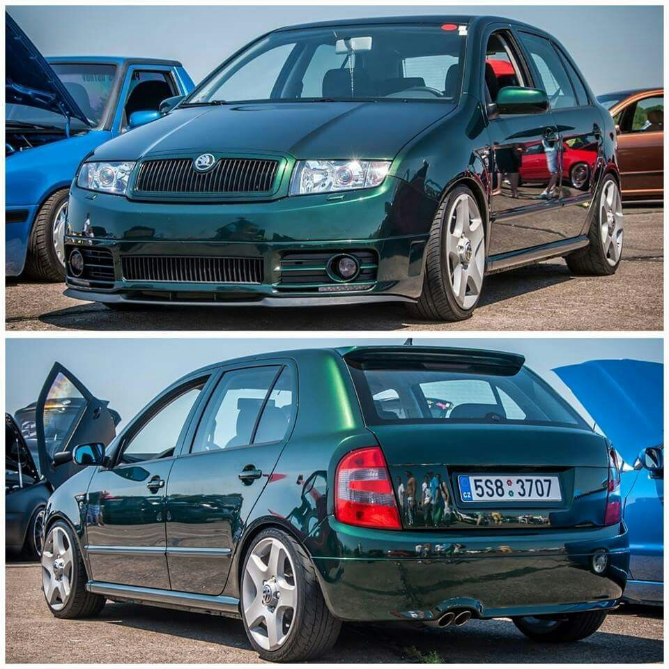 Skoda Fabia I Restyling 2004 - 2007 Sedan #2