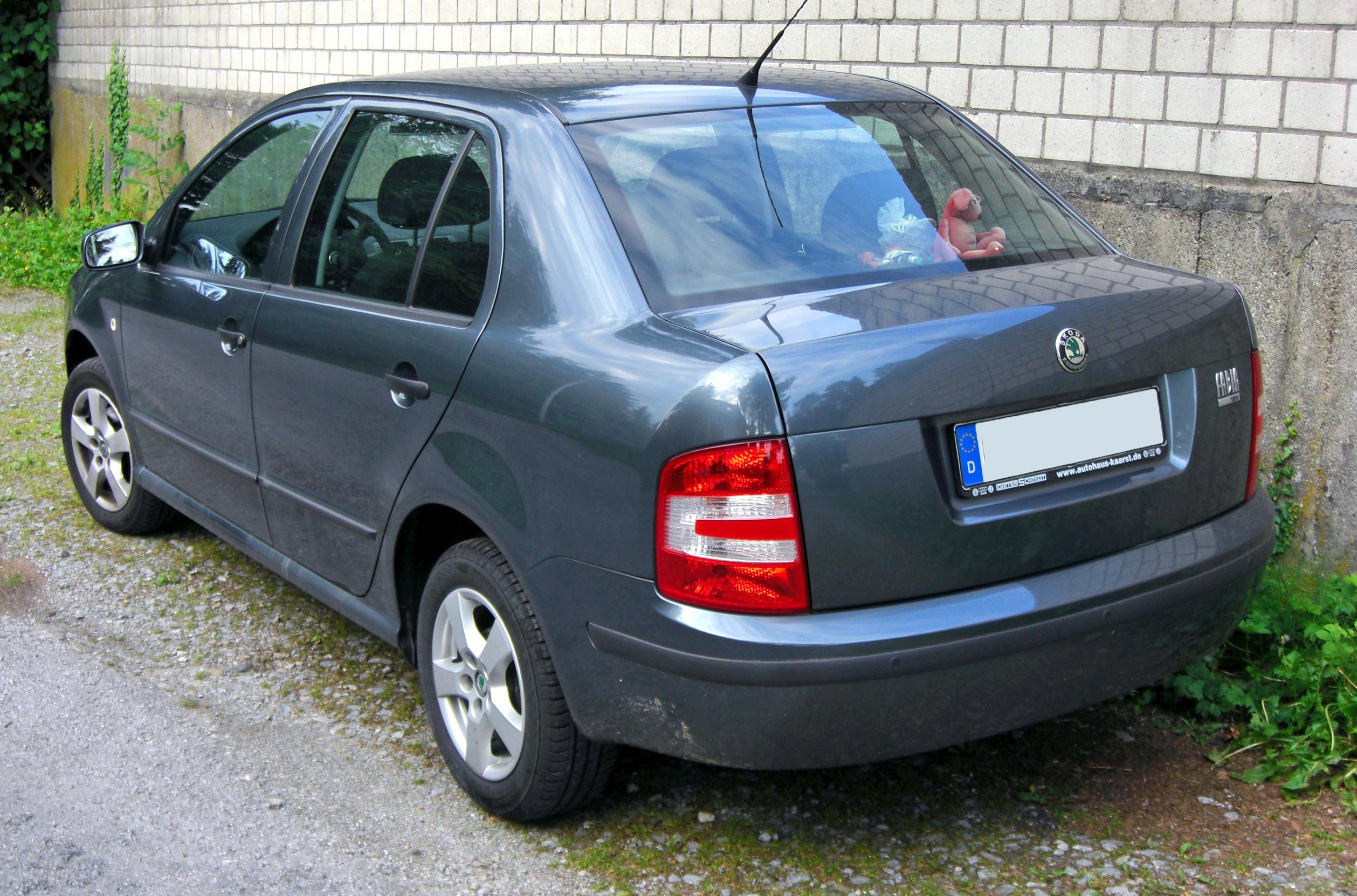 Skoda Fabia I Restyling 2004 - 2007 Sedan #5
