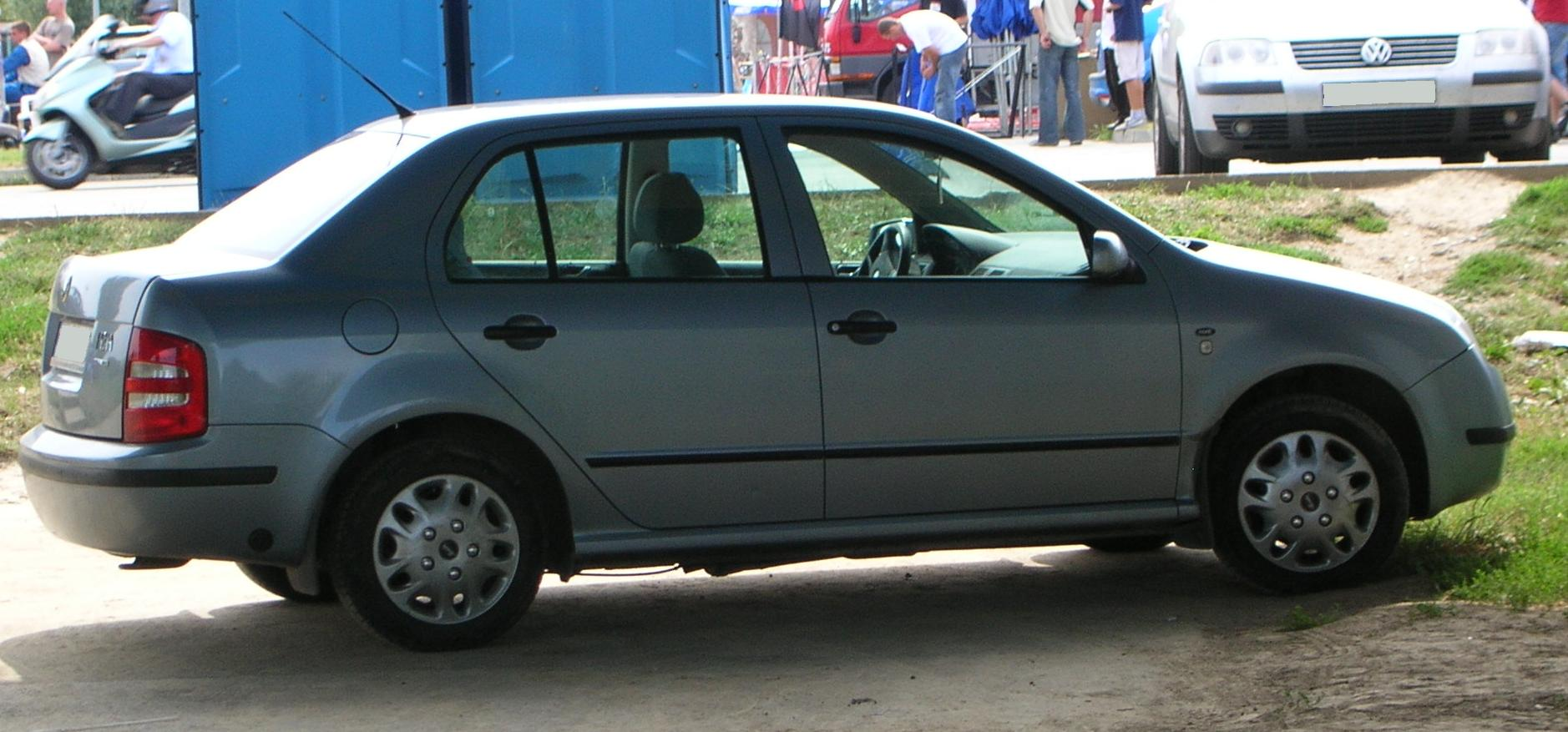Skoda Fabia I Restyling 2004 - 2007 Sedan #6