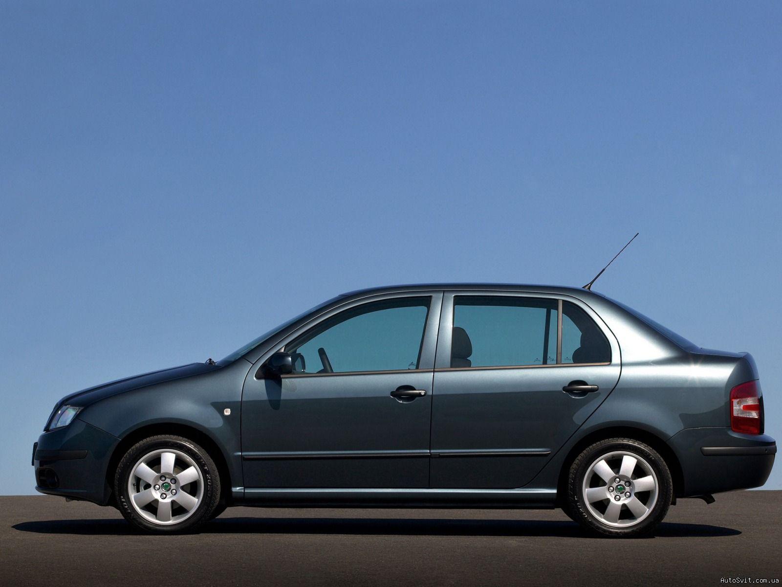 Skoda Fabia I Restyling 2004 - 2007 Sedan #7