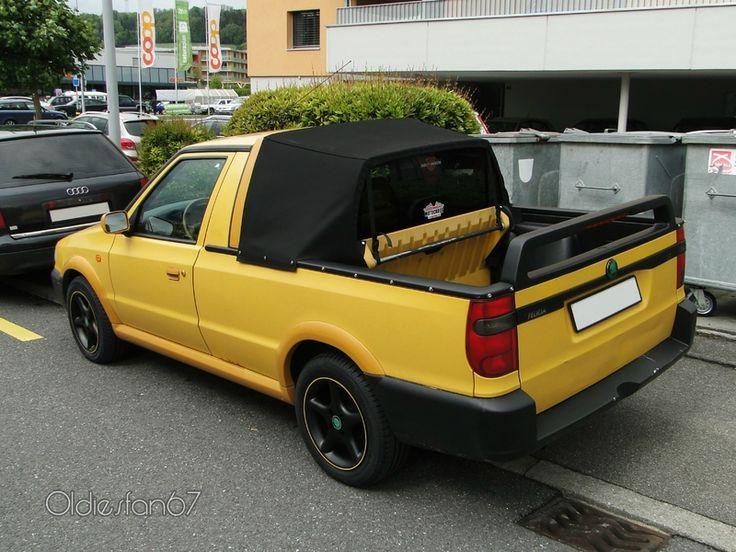 Skoda Felicia I 1994 - 1998 Pickup #3