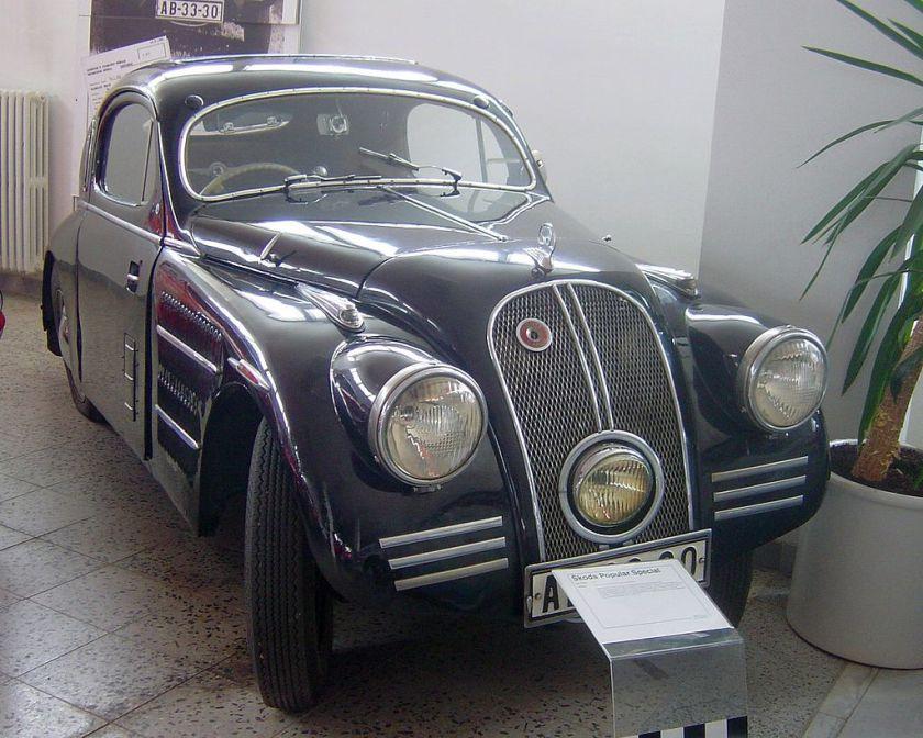 Skoda Popular 1934 - 1944 Hatchback 3 door #1
