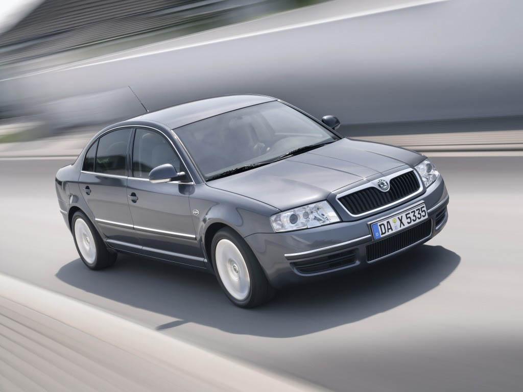 Skoda Superb I 2001 - 2006 Sedan #6