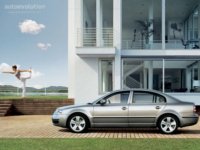Skoda Superb I 2001 - 2006 Sedan #4