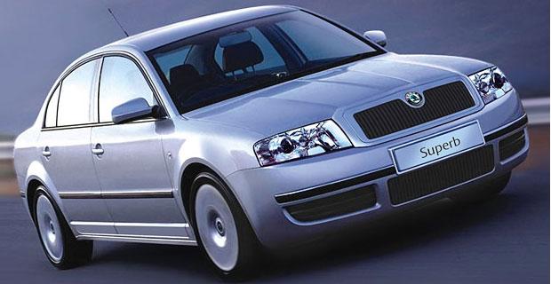 Skoda Superb I 2001 - 2006 Sedan #7