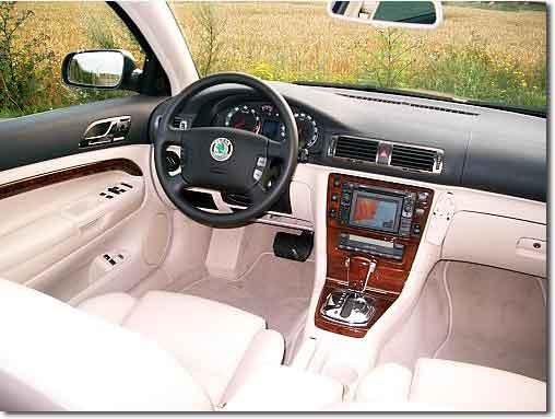 Skoda Superb I 2001 - 2006 Sedan #1