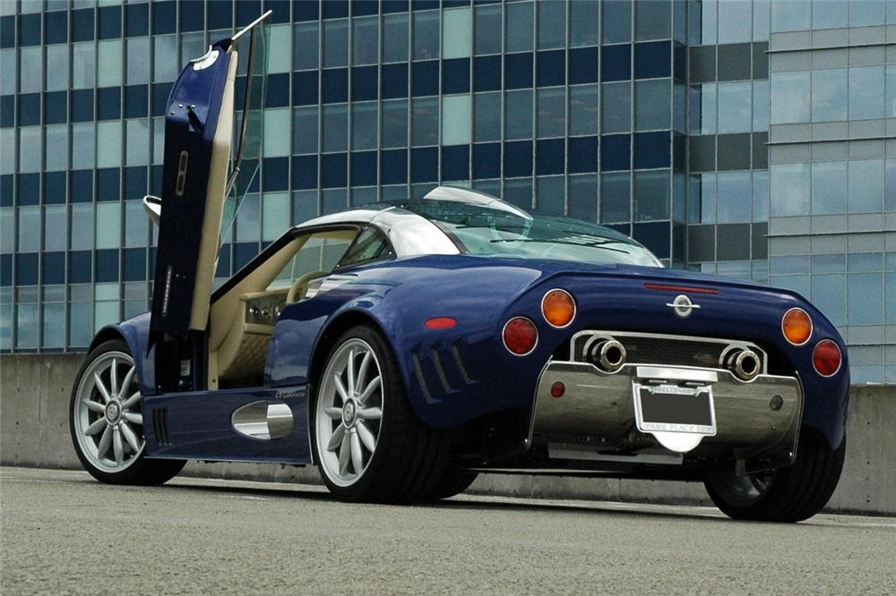 Spyker C8 2001 - now Coupe #4