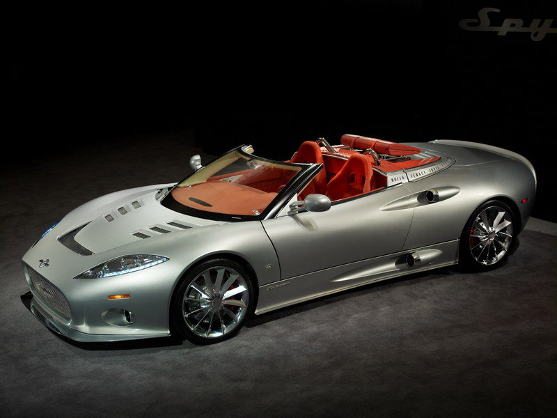 Spyker C8 2001 - now Coupe #7