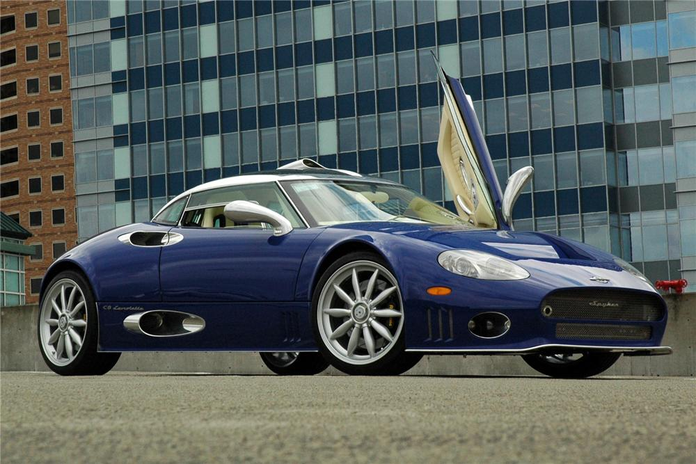 Spyker C8 2001 - now Coupe #5