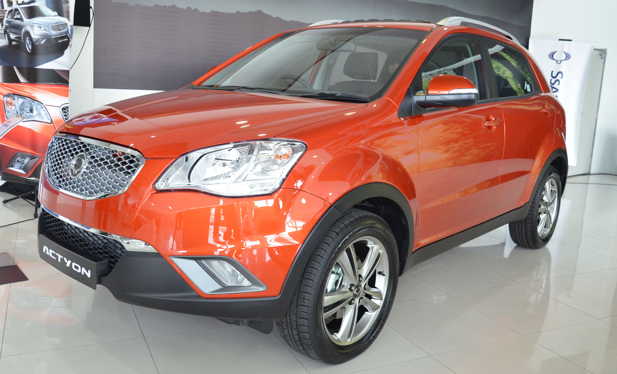 SsangYong Actyon II Restyling 2013 - now SUV 5 door #4