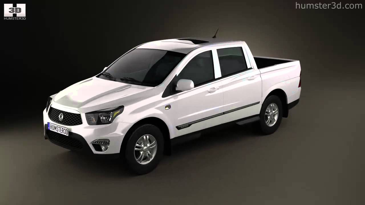 SsangYong Actyon Sports II 2012 - now Pickup #3