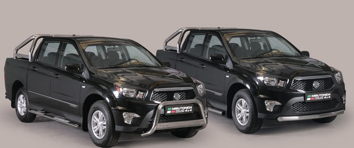 SsangYong Actyon Sports II 2012 - now Pickup #5