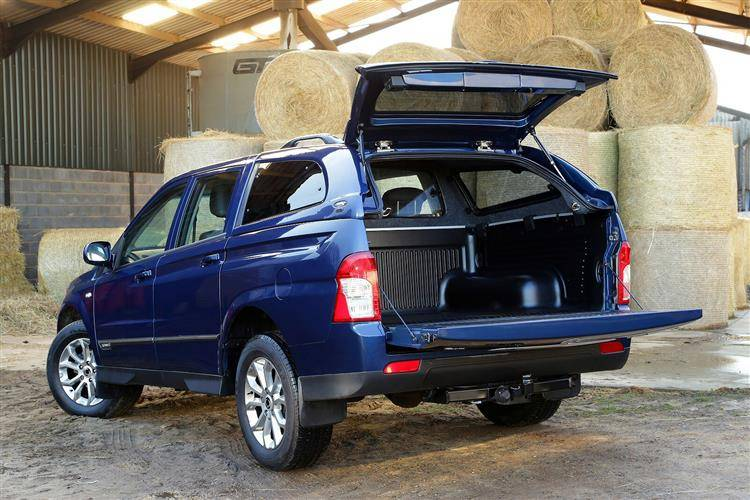 SsangYong Actyon Sports II 2012 - now Pickup #7