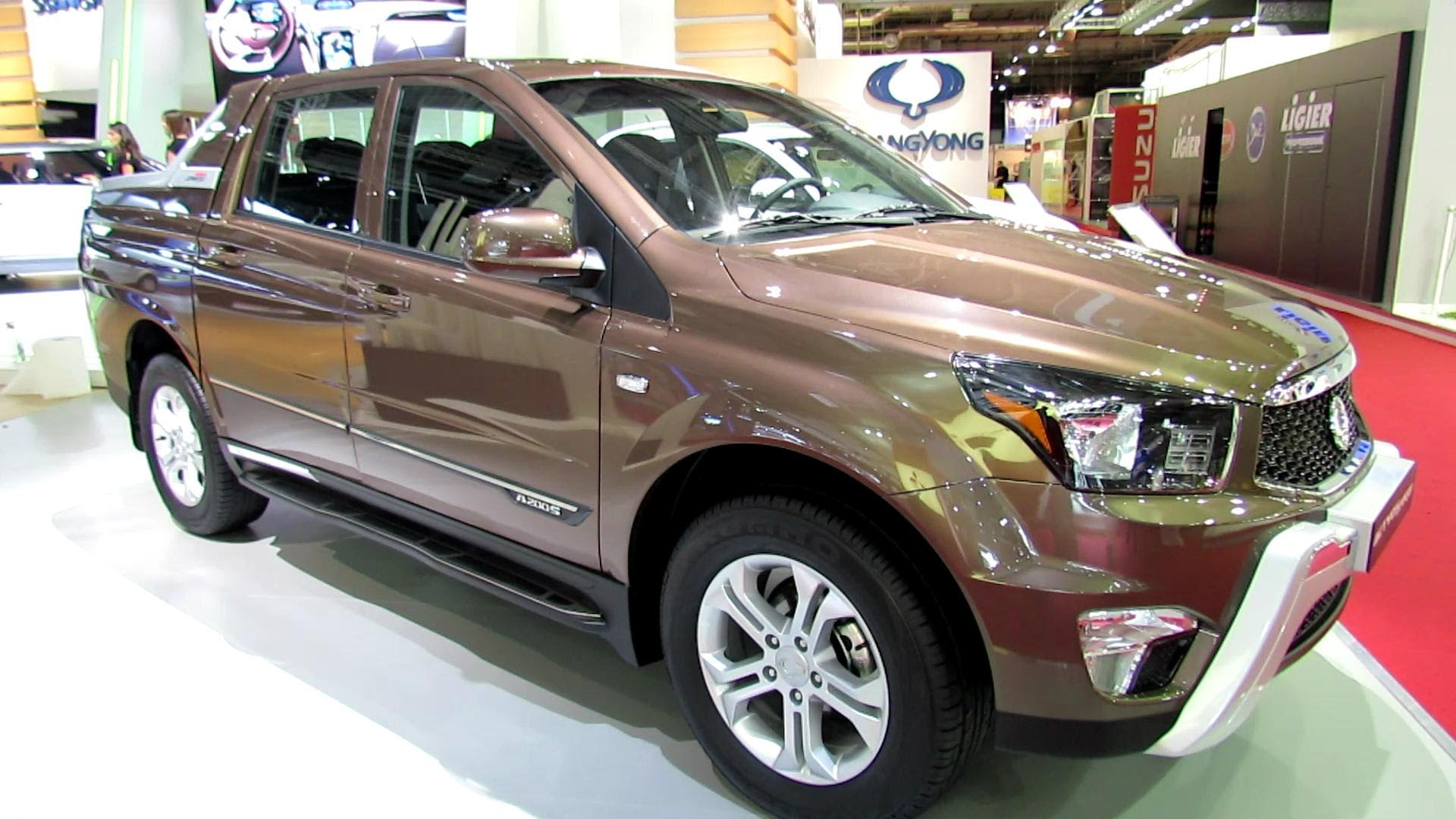 SsangYong Actyon Sports II 2012 - now Pickup #6
