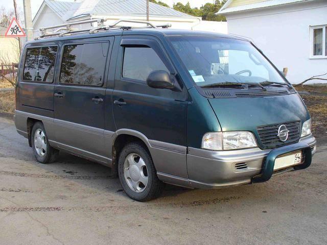 SsangYong Istana I 1995 - 2003 Minivan #8