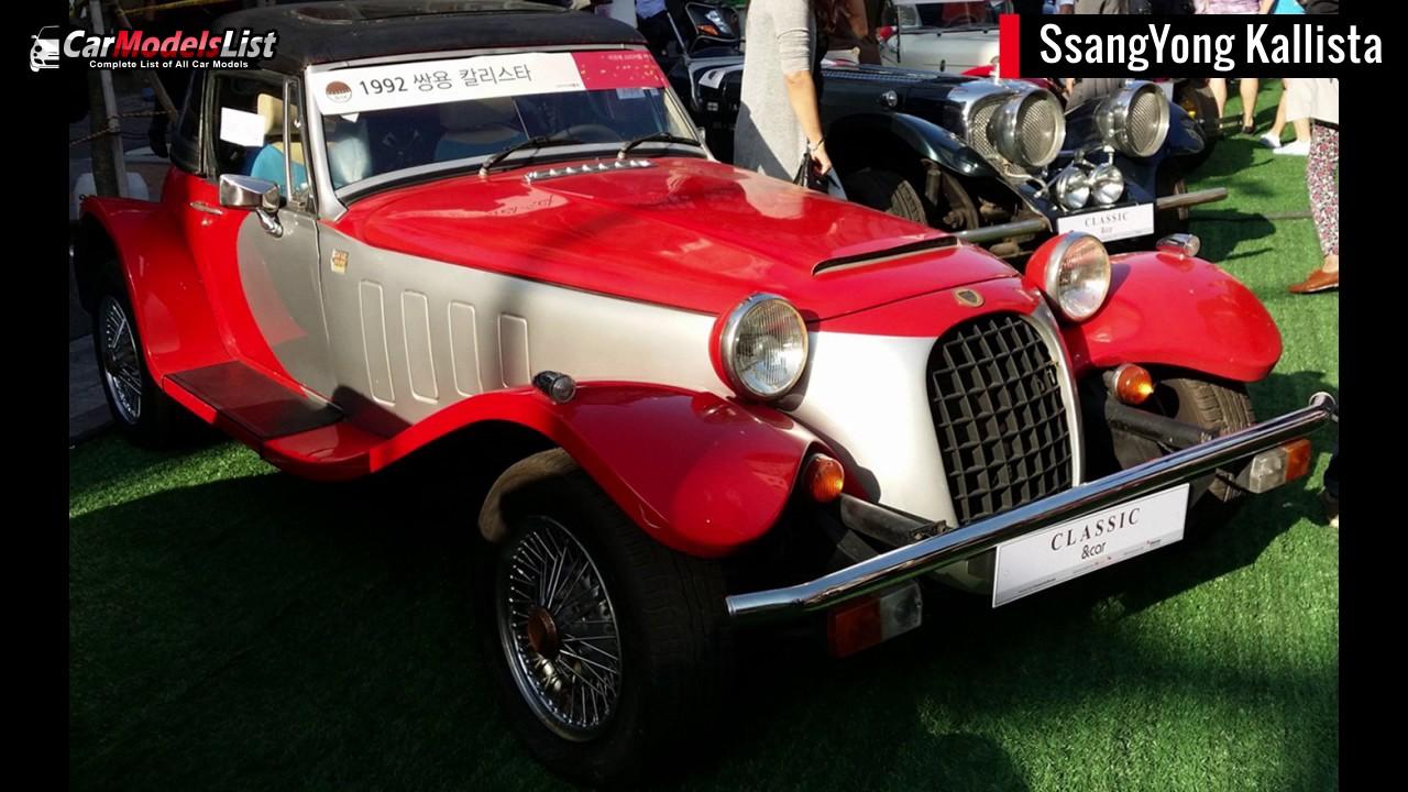 SsangYong Kallista 1992 - 1994 Cabriolet #7