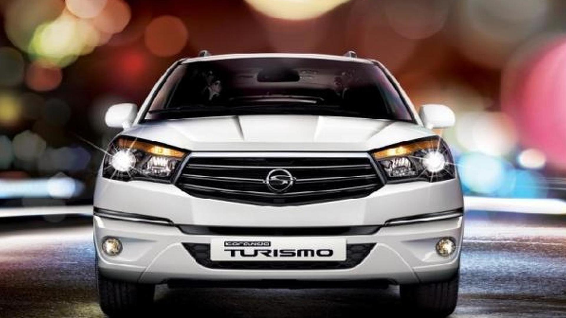 SsangYong Korando Turismo I 2013 - now Minivan #3