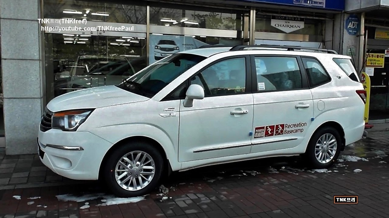 SsangYong Korando Turismo I 2013 - now Minivan #7