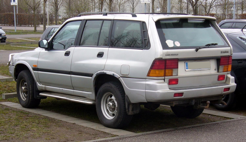 SsangYong Musso I 1993 - 1998 SUV 5 door #1