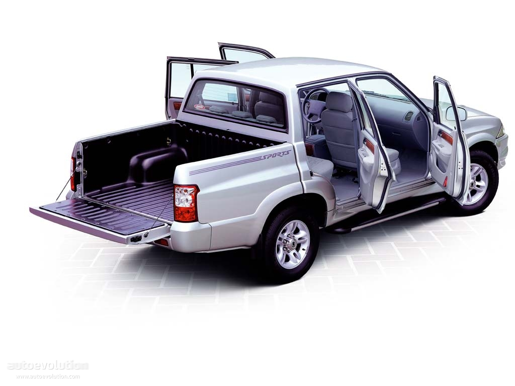 SsangYong Musso I Restyling 1998 - 2006 Pickup #3