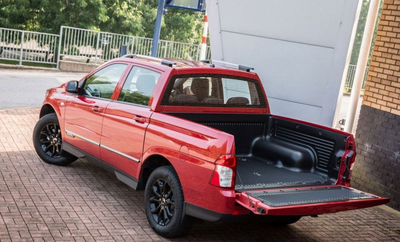 SsangYong Musso I Restyling 1998 - 2006 Pickup #2