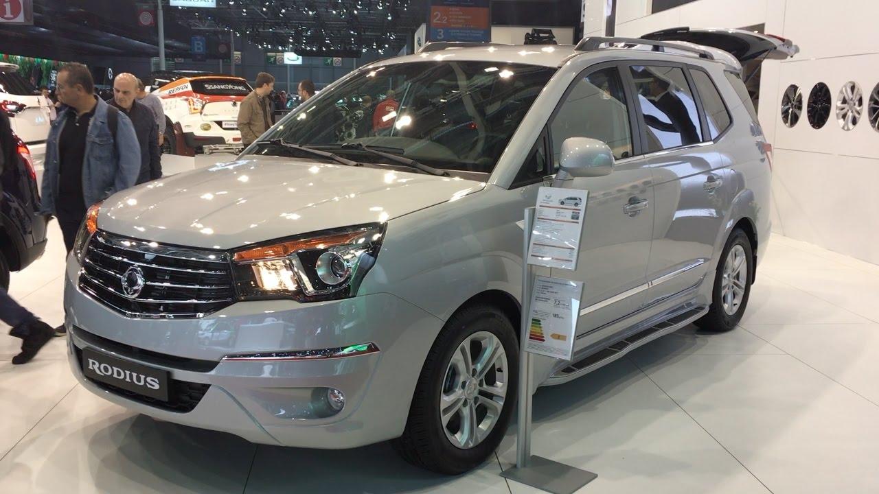 SsangYong Rodius 2013 - now Minivan #4