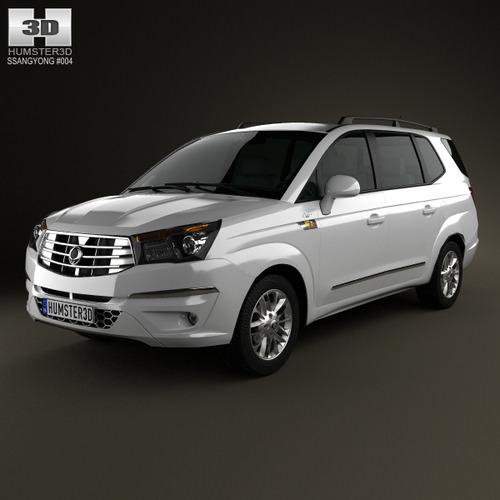 SsangYong Rodius 2013 - now Minivan #3