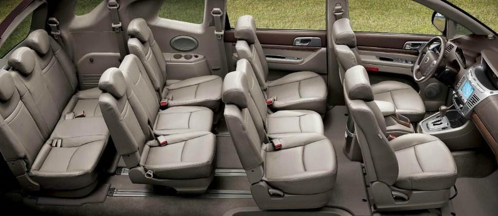 SsangYong Rodius 2013 - now Minivan #5
