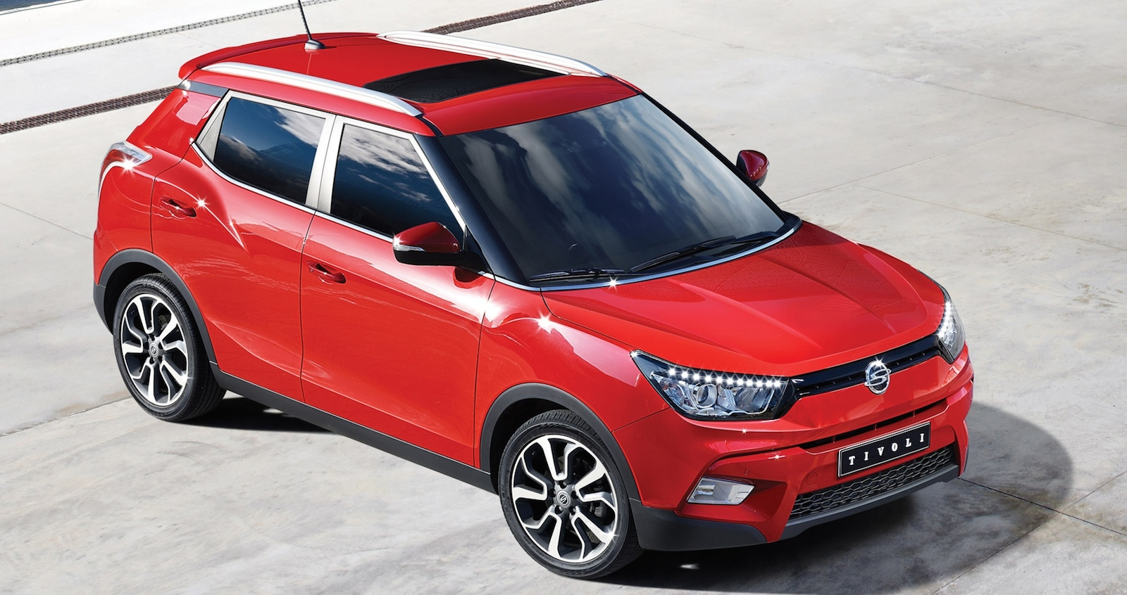 SsangYong Tivoli 2015 - now SUV 5 door #1