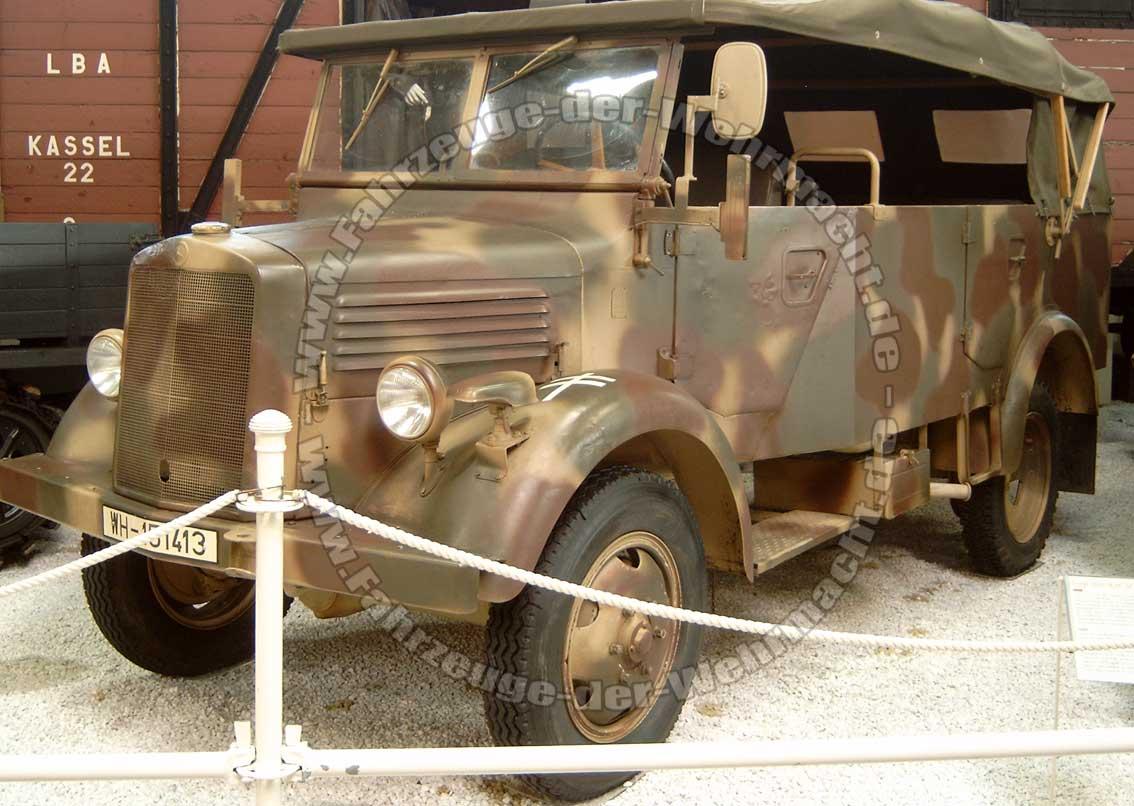 Steyr 1500 I 1941 - 1944 SUV #6