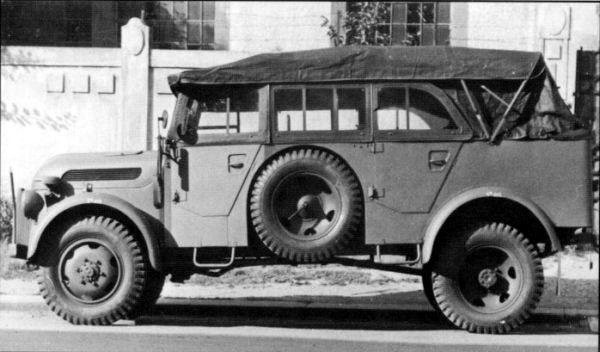 Steyr 1500 I 1941 - 1944 SUV #7