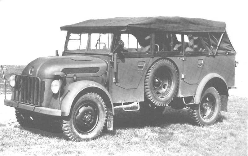 Steyr 1500 I 1941 - 1944 SUV #8