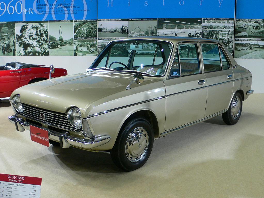 Subaru 1000 I 1965 - 1969 Sedan 2 door #8