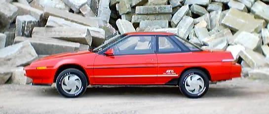 Subaru Alcyone I 1985 - 1991 Coupe #7