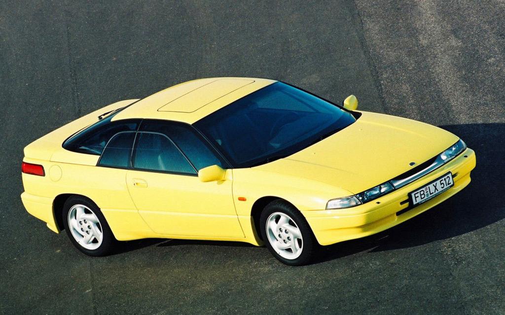 Subaru Alcyone II 1991 - 1996 Coupe #7