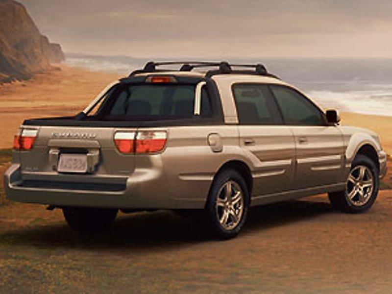 Subaru Baja 2002 - 2006 Pickup #4