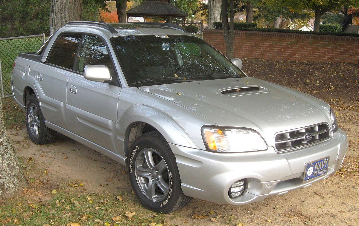 Subaru Baja 2002 - 2006 Pickup #5
